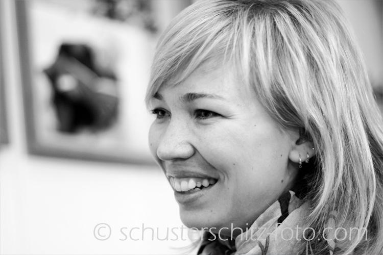 "Tatjana Vladimirovna Starova, Direktorin des Reisebüros ""A-B-Tours"", Russlanddeutsche."
