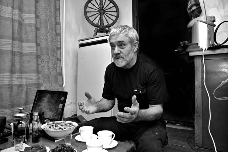Valerij Ivanovitsch Kunz, freischaffender Künstler, Russlanddeutscher