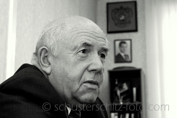Ivan Sigmundovitsch Selent, Menschenrechtsbeauftragter des Irkutsker Oblasts, Russlanddeutscher.