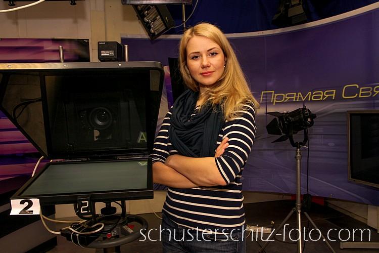 Elena Minenkova, russische TV-Moderatorin
