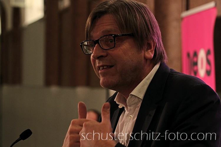 Guy Verhofstadt, belgischer Premierminister von 1999 bis 2008